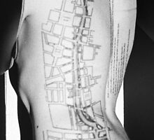 Body Maps - Grid - Back and Side by MaggieGrace