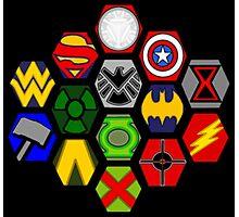 Marvel DC Comic Superhero Crossover Megaverse Photographic Print