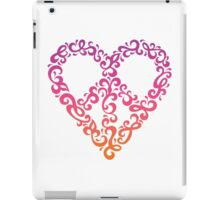 Floral Peace Heart iPad Case/Skin