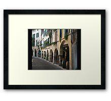 Walking in Asolo Framed Print