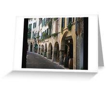 Walking in Asolo Greeting Card