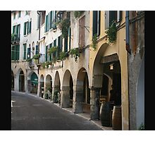 Walking in Asolo Photographic Print