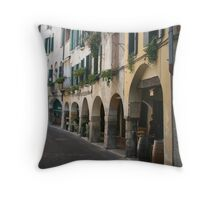 Walking in Asolo Throw Pillow