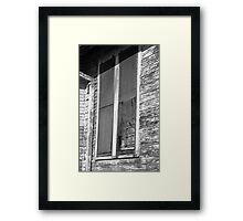Aged Windows - New Orleans Framed Print
