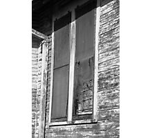 Aged Windows - New Orleans Photographic Print