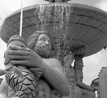Delaggio Fountain II by AnalogSoulPhoto