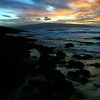 Makena Beach Sunset by Michael  Moss