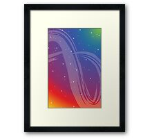 Infinite Path - Awake in the Cosmic Dream Framed Print