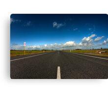 Forrest Highway Canvas Print