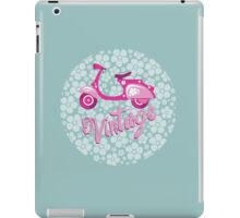 Vintage moto iPad Case/Skin