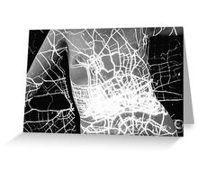 Body Maps - London Lights - Torso Greeting Card