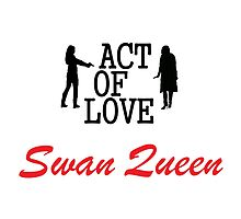 Swan Queen - Act of Love by queequeg35