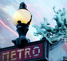 City Mystic • Paris Charioteer by CityMystic