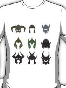 skyrim: minimalist helmets T-Shirt