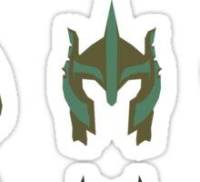 skyrim: minimalist helmets Sticker