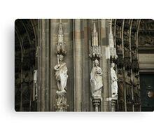 European Church PhotoSketchBook 2-5 Canvas Print