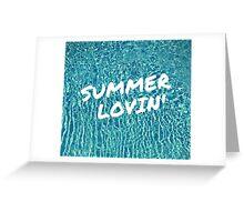 Summer Lovin' Greeting Card