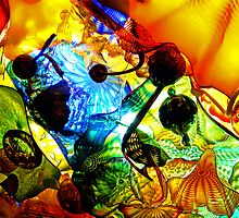 Colorful Chihuly Glass by Tyler Stierhoff