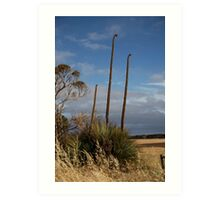 landscapes #200, a tall tail Art Print
