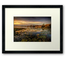 Long Slow Sunset Framed Print