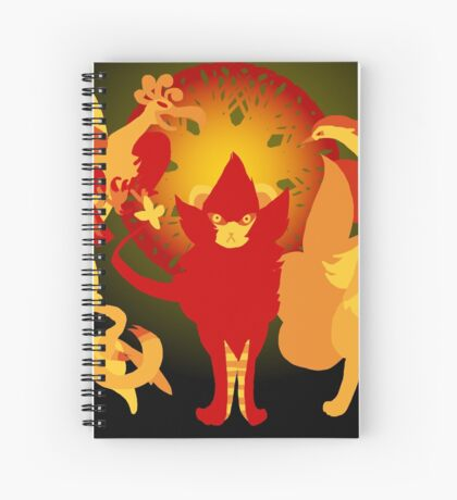 Sun Pokemon Spiral Notebook