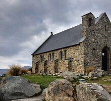 Church of the Good Shepherd, Lake Tekapo  by Wendy  Meder