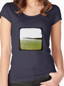 Just a Blur - TTV (for colour) Women's Fitted Scoop T-Shirt