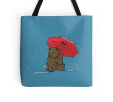 Drizzly Bear Tote Bag