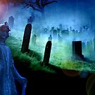 Guardian Angel of Departed Souls - Angel brings the dead into eternity by Rick Short