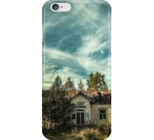 Old House Sky iPhone Case/Skin