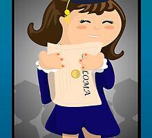 Graduate Girl by elledeegee