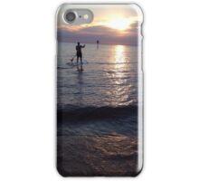 Sunset Paddleboarder  iPhone Case/Skin