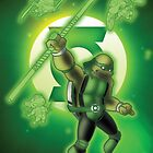 "TMNT Green Lantern by Stephen ""Switt!""  Wittmaak"