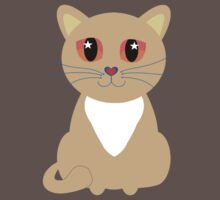 One and Only One Tan Kitty Kids Clothes