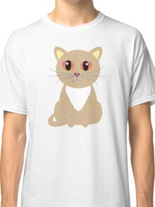 One and Only One Tan Kitty Classic T-Shirt
