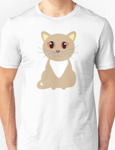 One and Only One Tan Kitty T-Shirt
