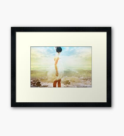 """""""Be more in touch with your thoughts and feelings Framed Print"""