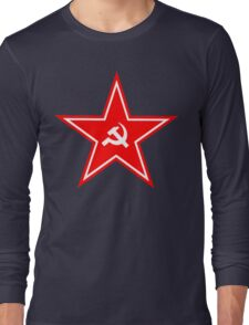 Soviet Union Symbol Star Long Sleeve T-Shirt
