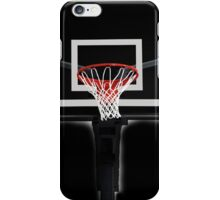 Basketball Hoop T-Shirt iPhone Case/Skin