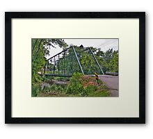 Metal Bridge Framed Print