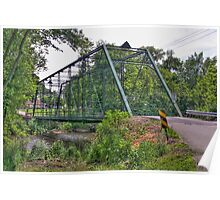 Metal Bridge Poster