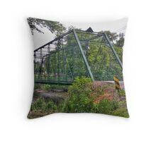 Metal Bridge Throw Pillow