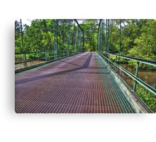 Metal Bridge 2 Canvas Print