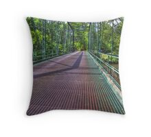 Metal Bridge 2 Throw Pillow