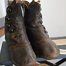 Antique Child Button Shoes by principiante