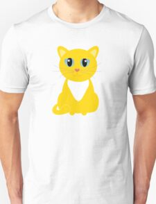 Only One Yellow Kitty Unisex T-Shirt