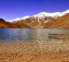 "A Beautiful Lake on Himalayas of ""Unforgetable Himachal"" in :Incredible IIndia"". by Sundeep Bhardwaj http;//sundeepkullu.weebly.com by Sundeep Bhardwaj"