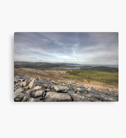 Burren Scenery Canvas Print