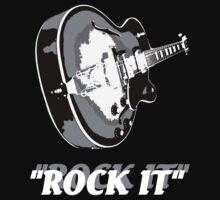 the rock t-shirt Kids Tee