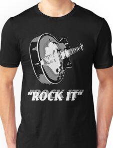the rock t-shirt Unisex T-Shirt